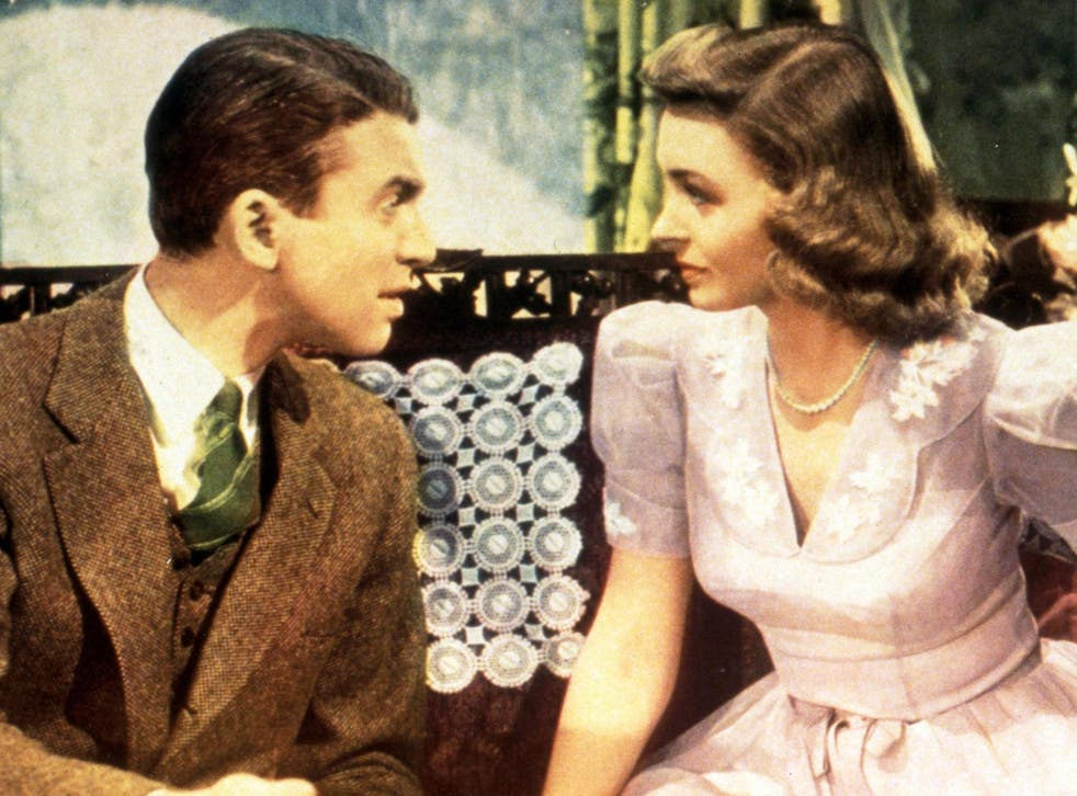 Donna Reed played Donna Stone, a 1950s modest American housewife. Donald Trump wants female reporters to be more like her character. Rex Features/It's a Wonderful Life