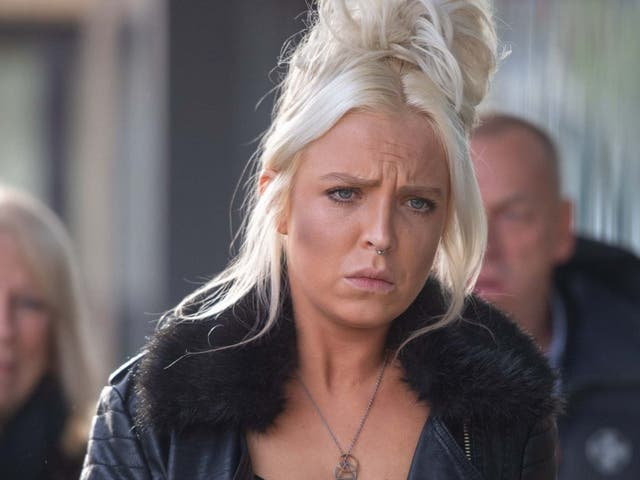 Chloe Haines, pictured outside Chelmsford Magistrates' Court in November