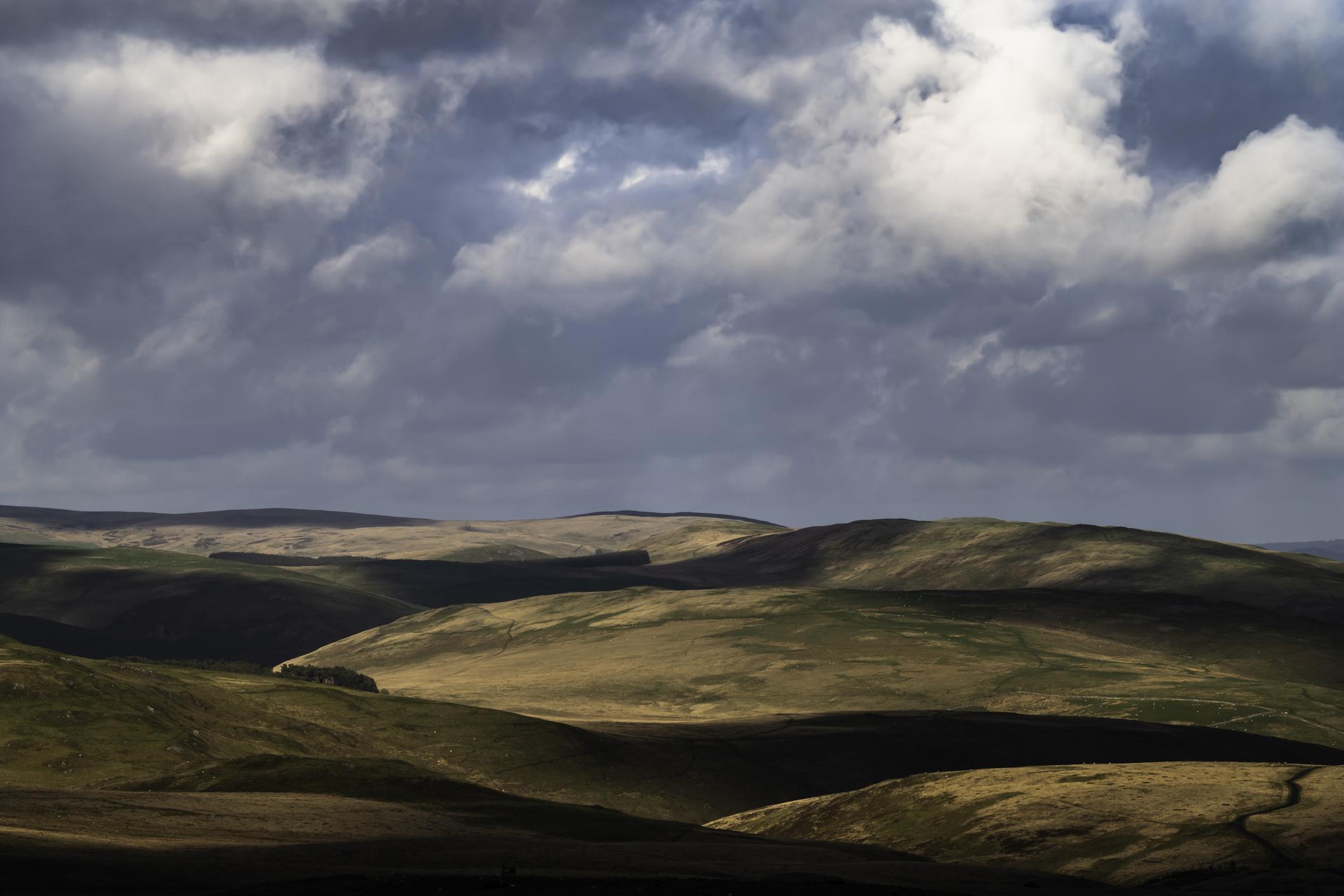 Byrness to Kirk Yetholm, Northumberland, Scottish Borders