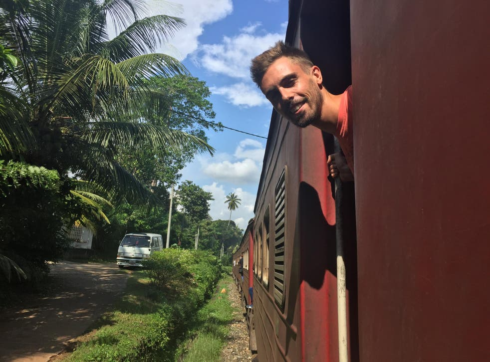 Jonnie Emsley was on holiday in Sri Lanka when he was assaulted