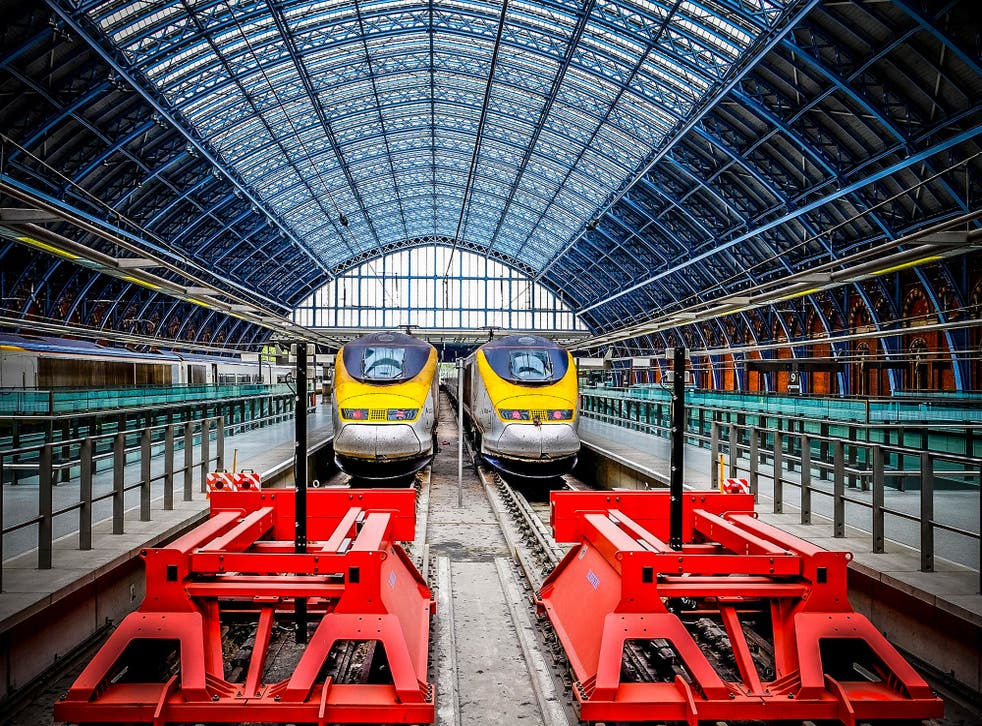 End of the line? Eurostar trains at London St Pancras