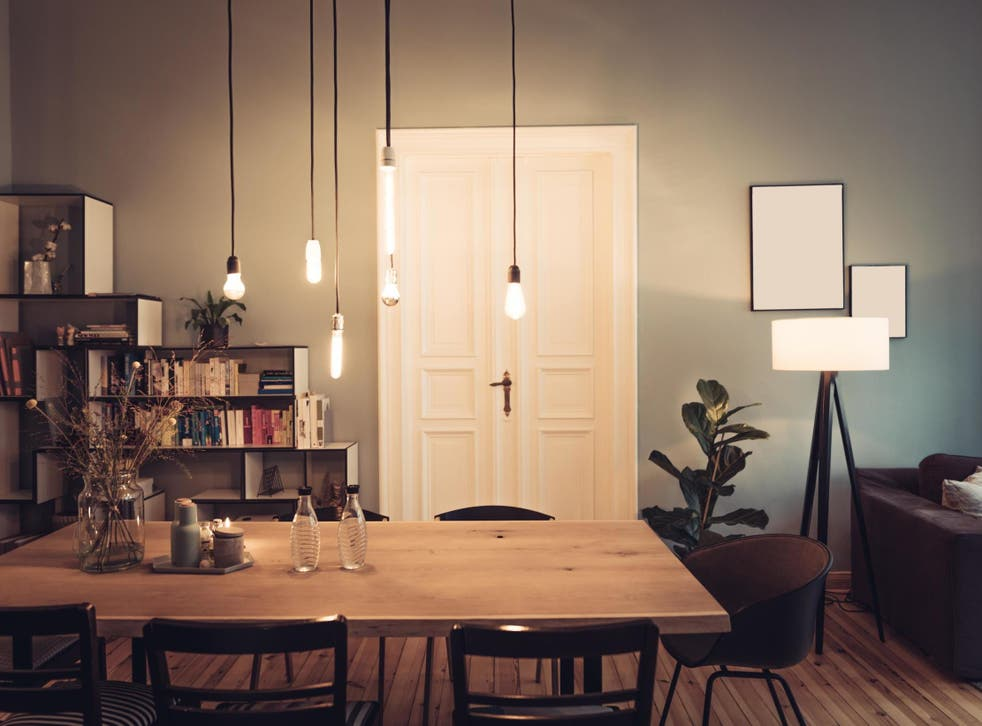 Clever light can create a warm atmosphere for your home