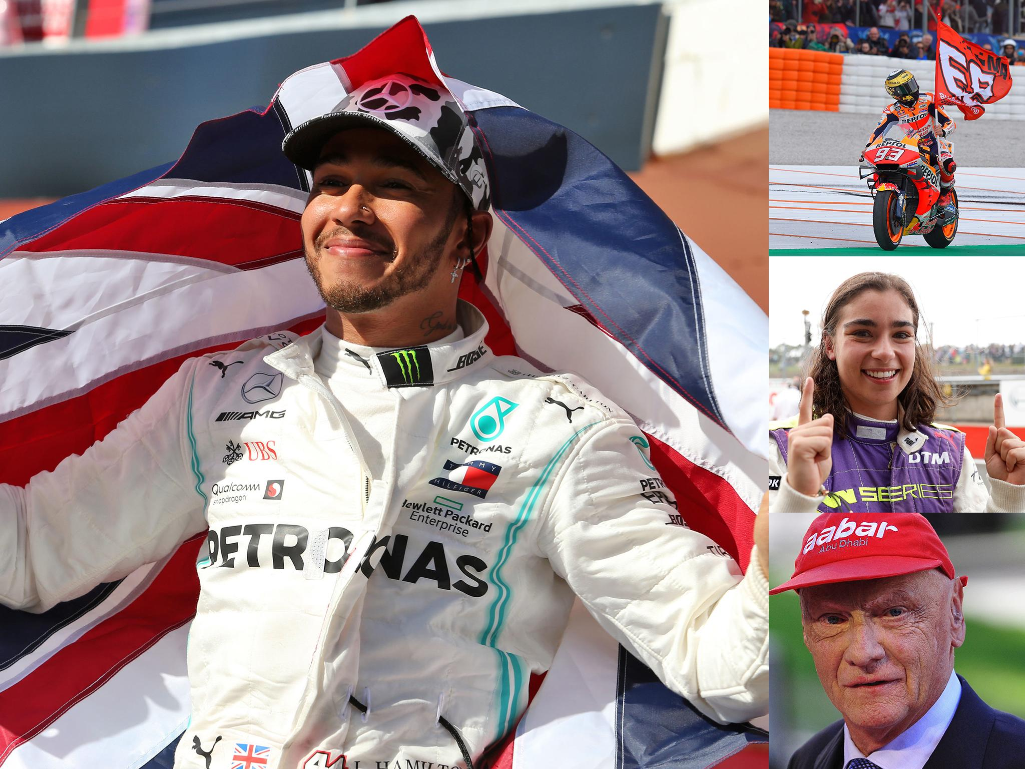 Record-breakers, trailblazers and tragedy: Motorsport in 2019 from F1 to MotoGP and the W Series