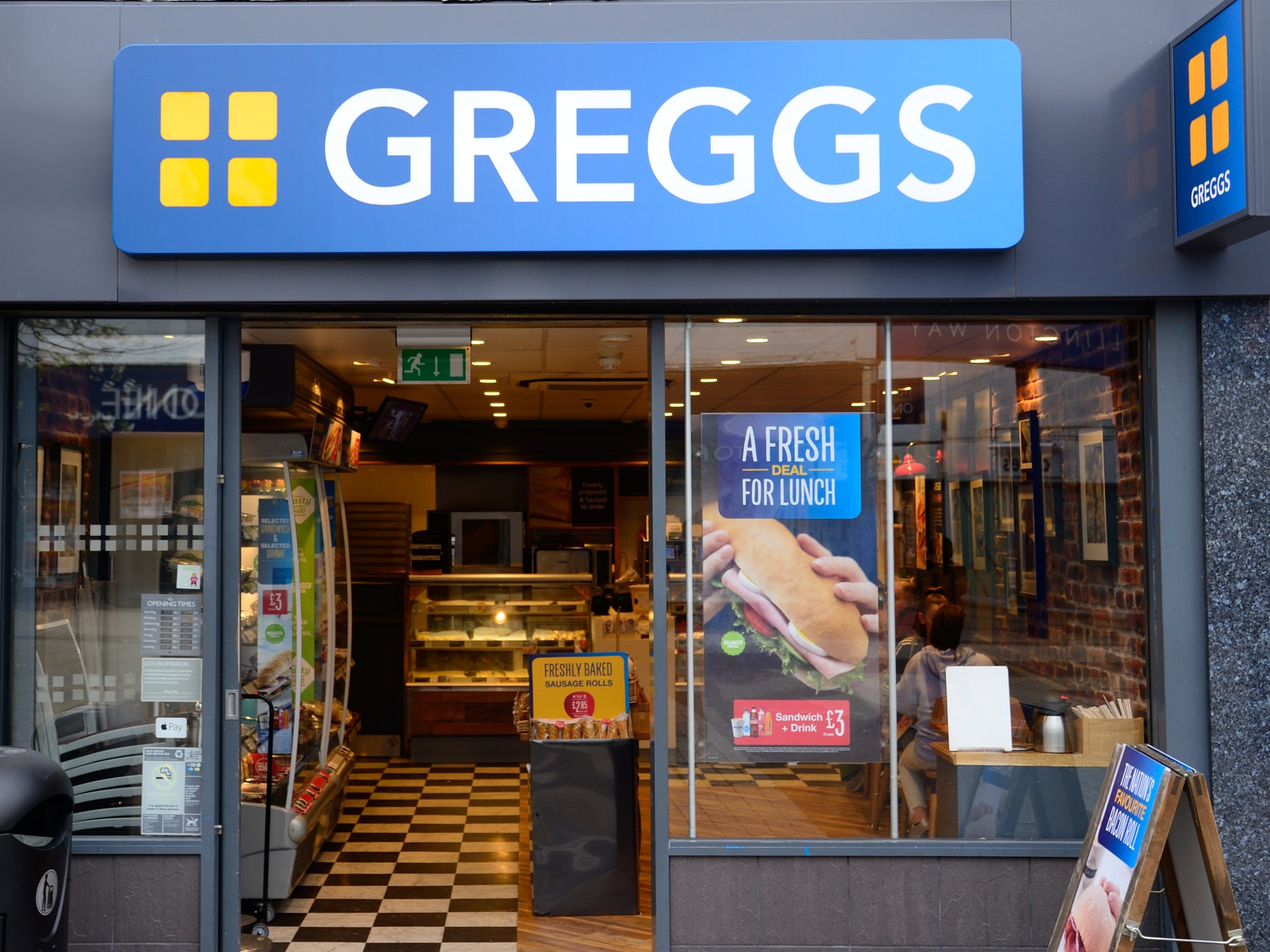 Greggs To Roll Out Nationwide Delivery Service The Independent