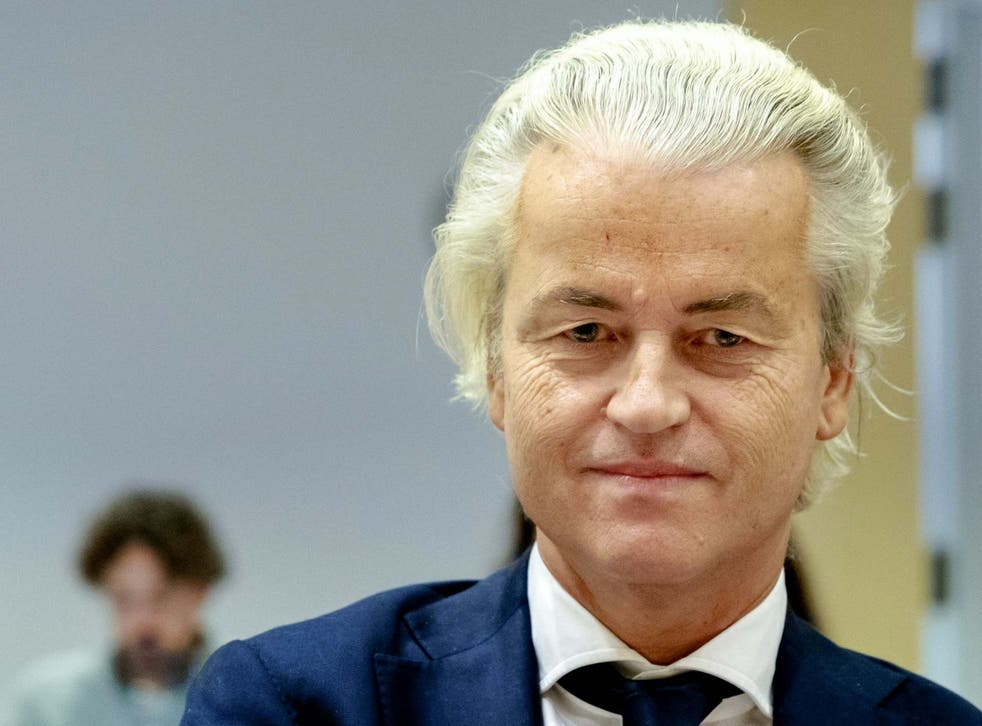 Geert Wilders cancelled a similar event last year after police arrested a man who threatened to kill him over his plan