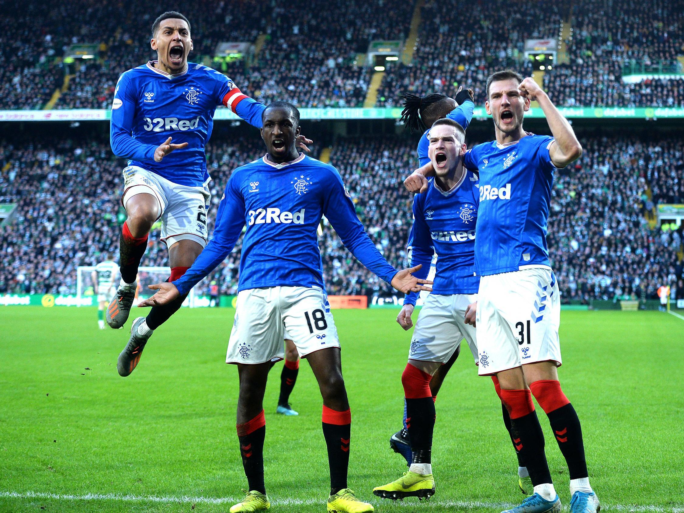Steven Gerrard's Rangers win at Celtic Park to close the gap in thrilling title race | The Independent | The Independent