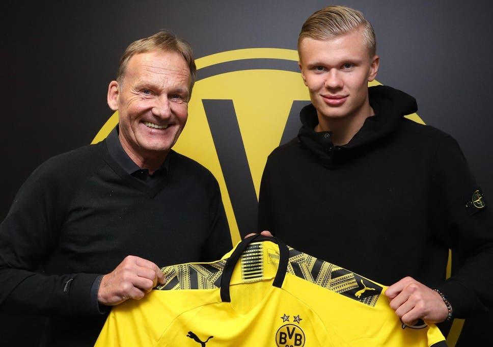 Image result for Erling Braut Haaland: Borussia Dortmund