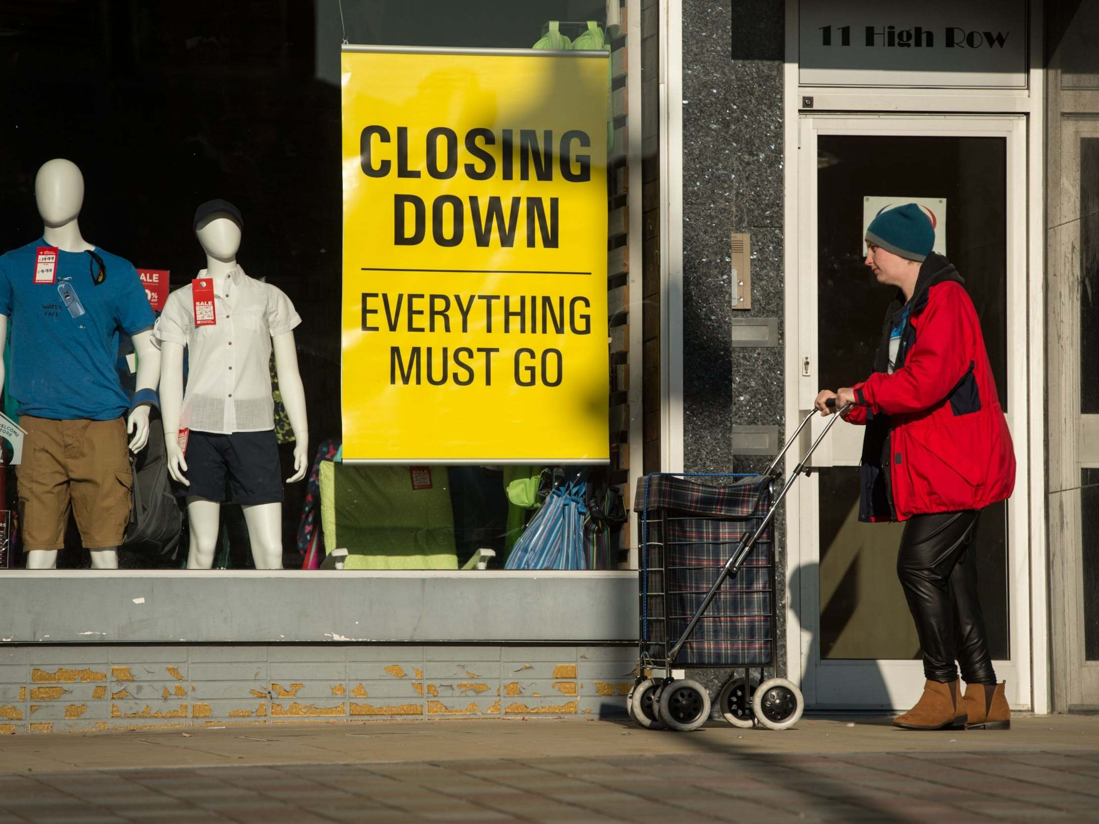 UK economy set for deepest ever recession as businesses report record drop in activity