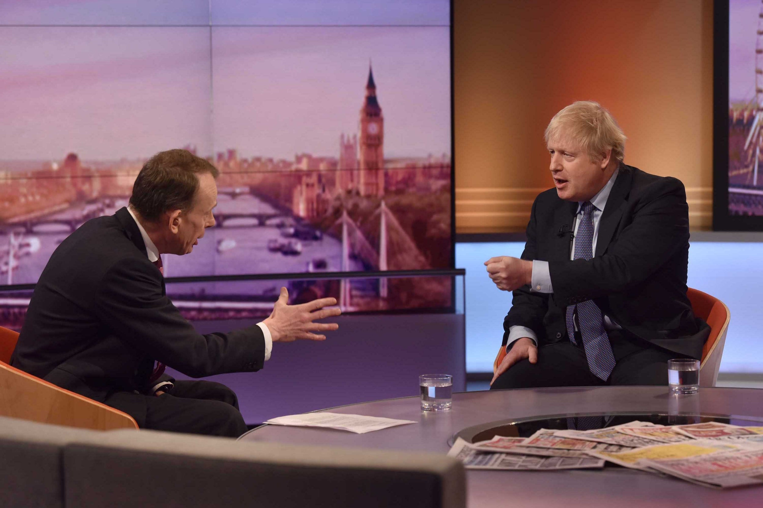 Boris Johnsons Andrew Marr Interview Prompts So Many