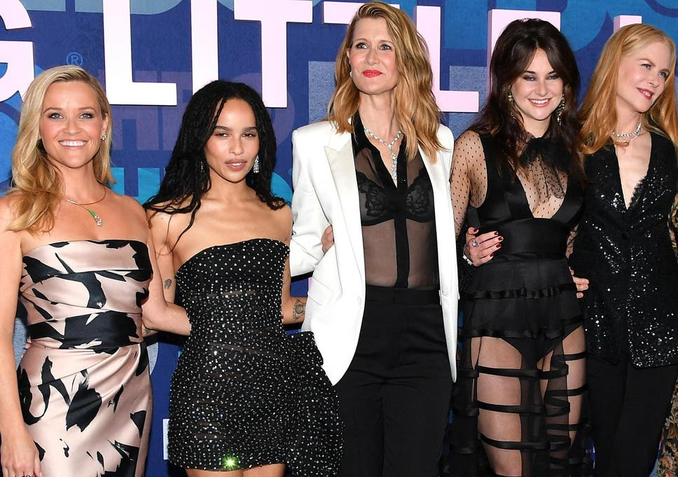 Zoe Kravitz Shares Unseen Photograph Of Big Little Lies Cast