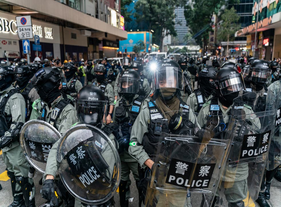 Sources pointed to Westminster's stance on the Hong Kong protests as a reason for the suspension