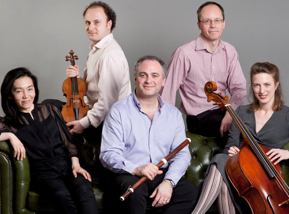 Lounge act: early music ensemble Florilegium are old favourites at Wigmore Hall