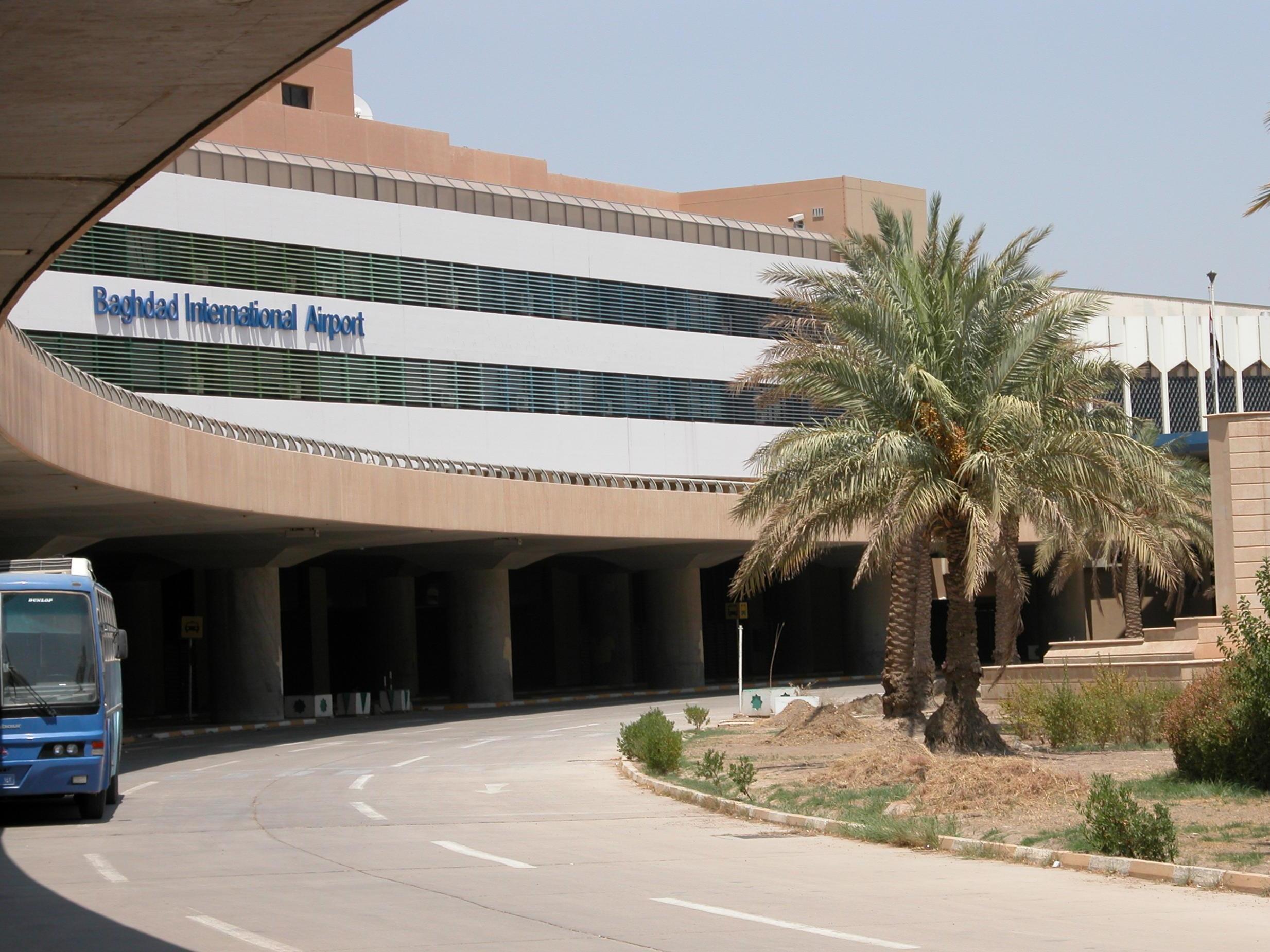 Resultado de imagen para baghdad airport