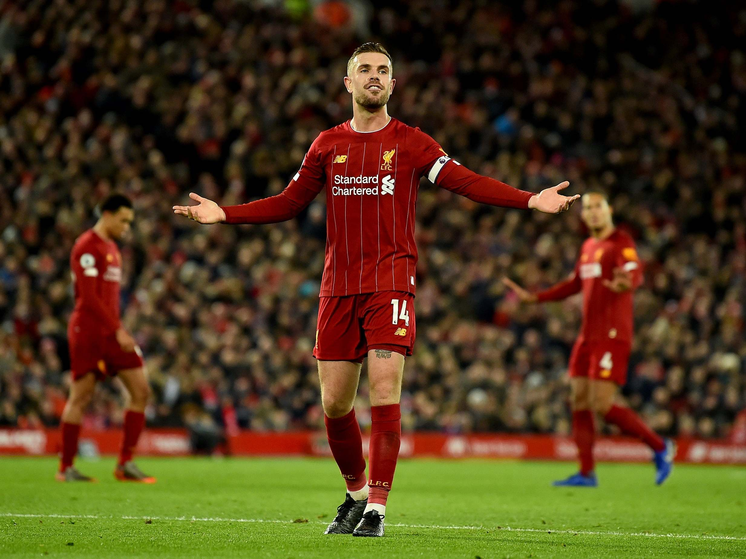 Jordan Henderson typifies Liverpool's steel as undefeated run hits 101 points to show mindset of champions