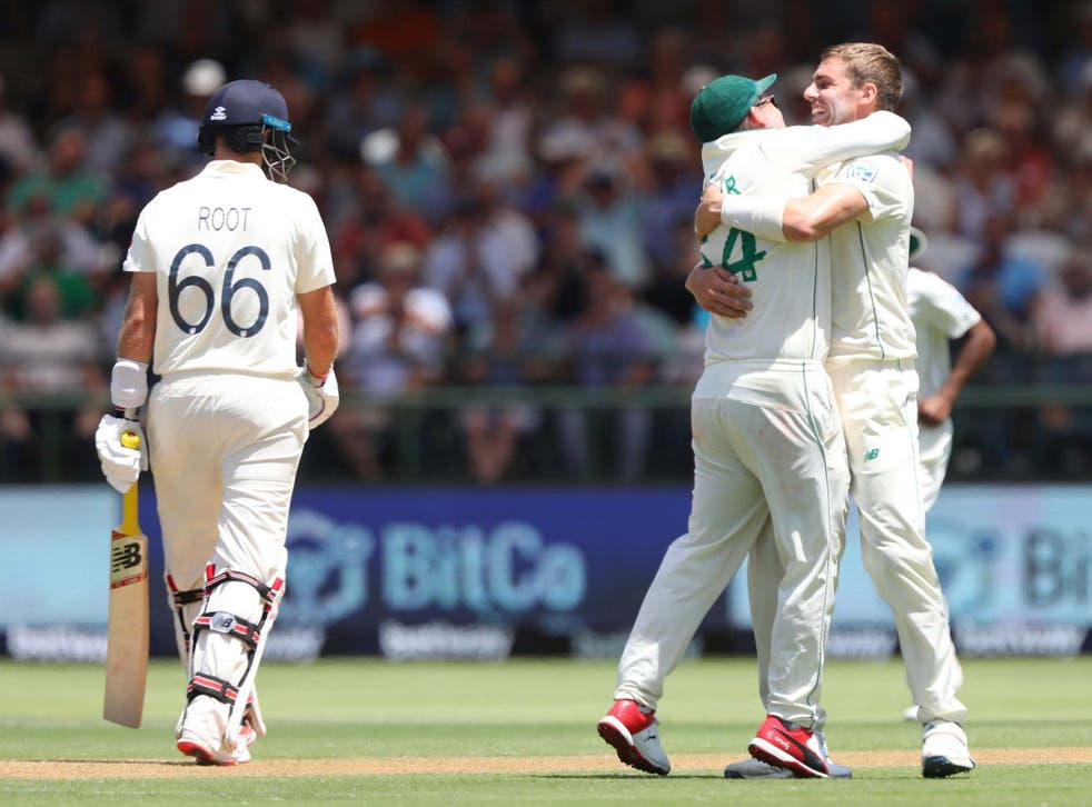 England's batsmen failed to capitalise on starts on day one in Cape Town