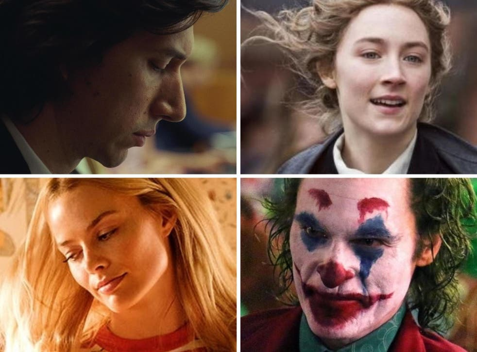 Major contenders: Adam Driver in Marriage Story, Saoirse Ronan in Little Women, Joaquin Phoenix in Joker and Margot Robbie in Once Upon a Time in Hollywood