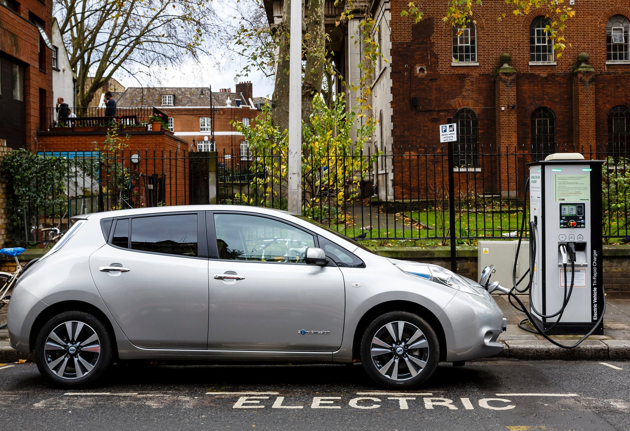 Sales of electric vehicles rise by 144 per cent as diesel cars decli…