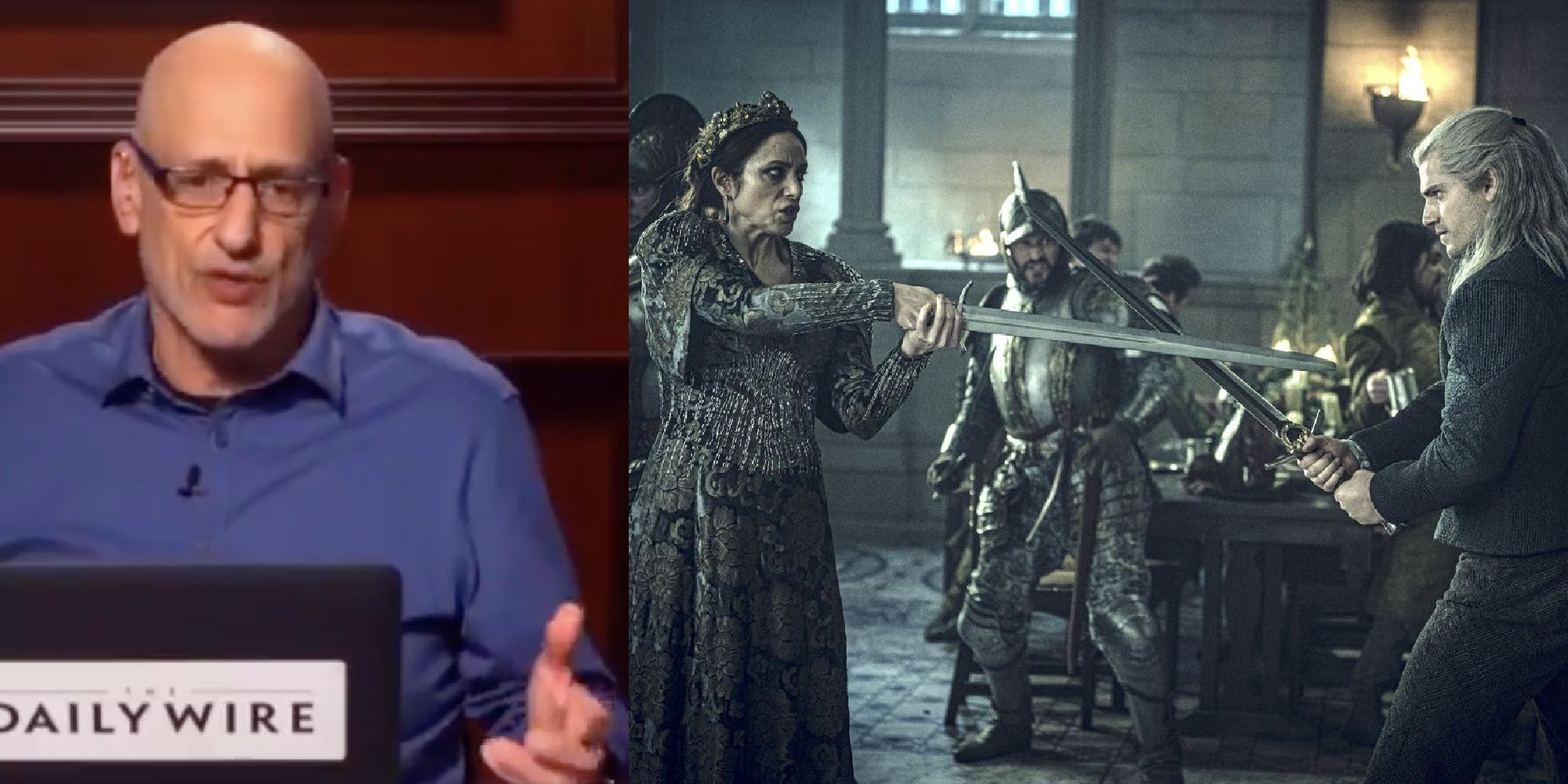 Man gets history lesson after moaning about a woman fighting with a sword in The Witcher