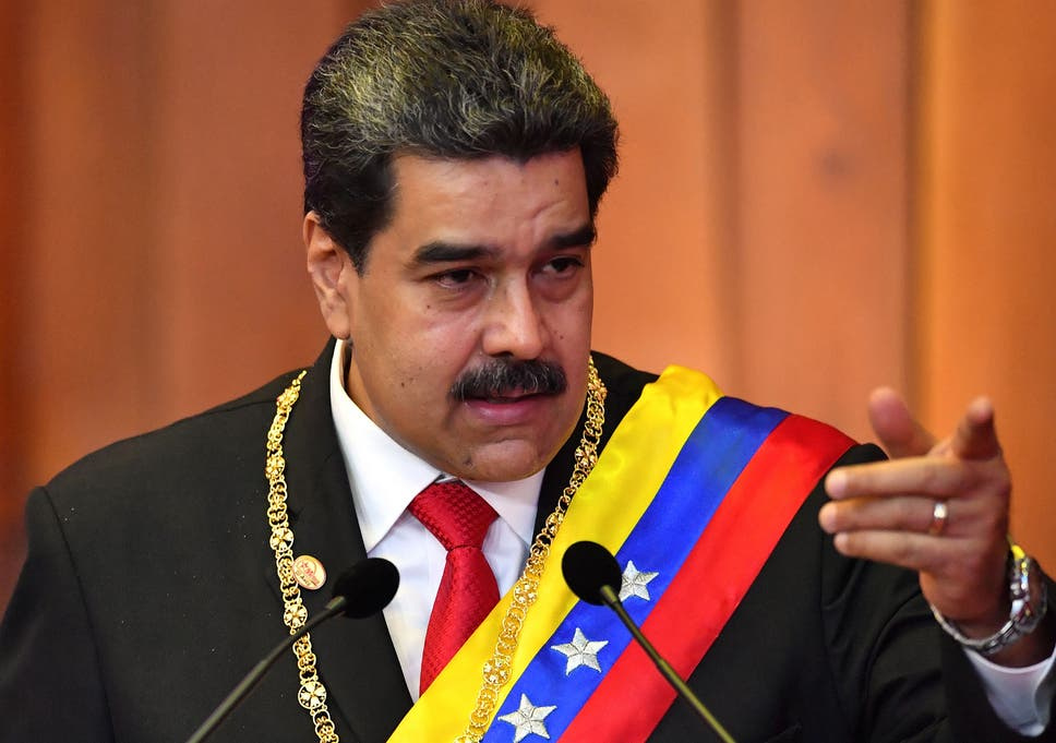 The US government has charged Venezuelan president Nicolas Maduro with drug trafficking