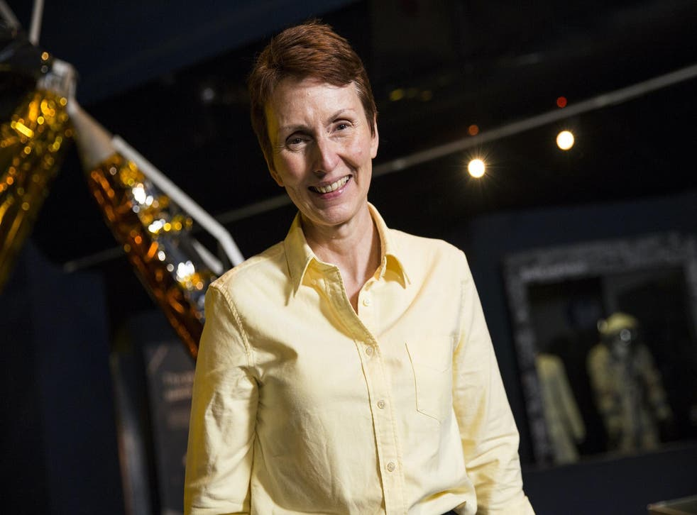 British astronaut Helen Sharman pictured at the Science Museum on May 20, 2016 in London, England