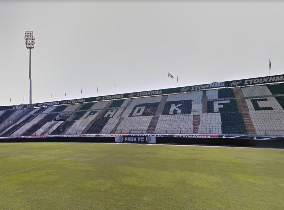 PAOK'S home stadium in Thessaloniki