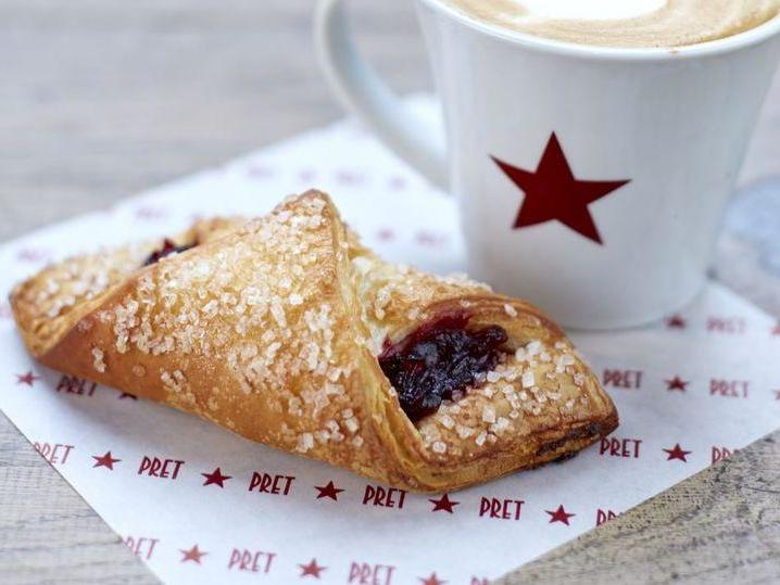 Pret launches vegan berry croissant – this is our verdict