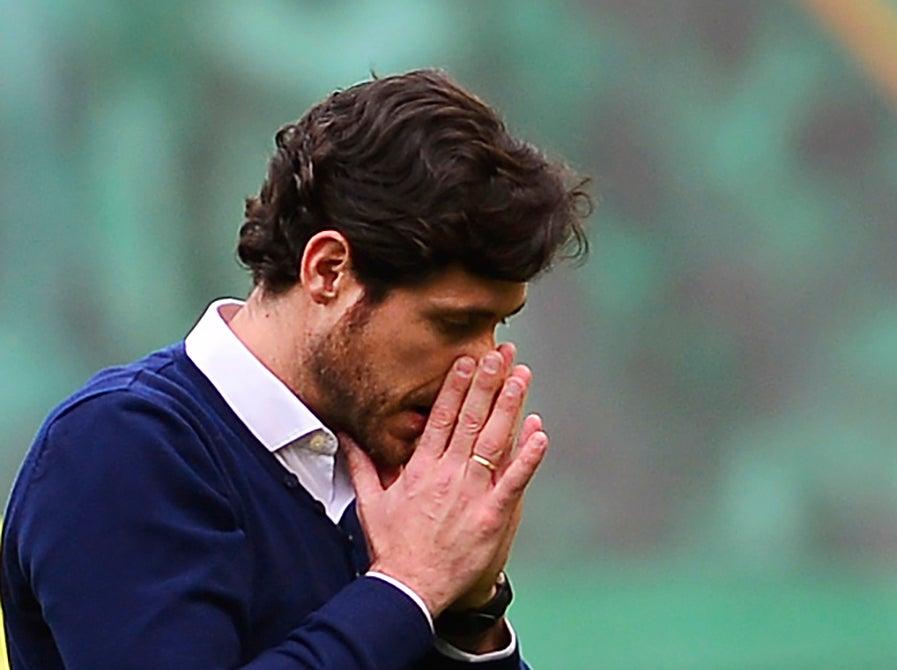 Malaga sack coach Sanchez del Amo over explicit video