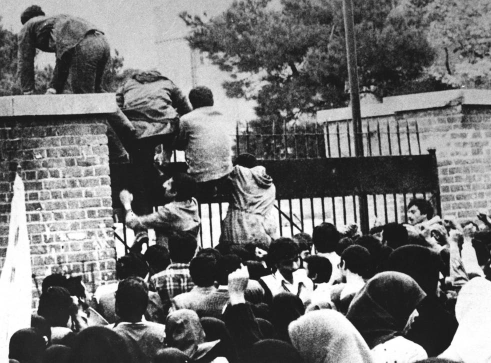 The most culturally important building in Tehran? Iranian students storm the US embassy in 1979