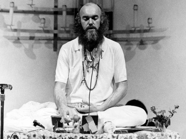 Ram Dass popularised eastern spirituality and psychedelic use in the US