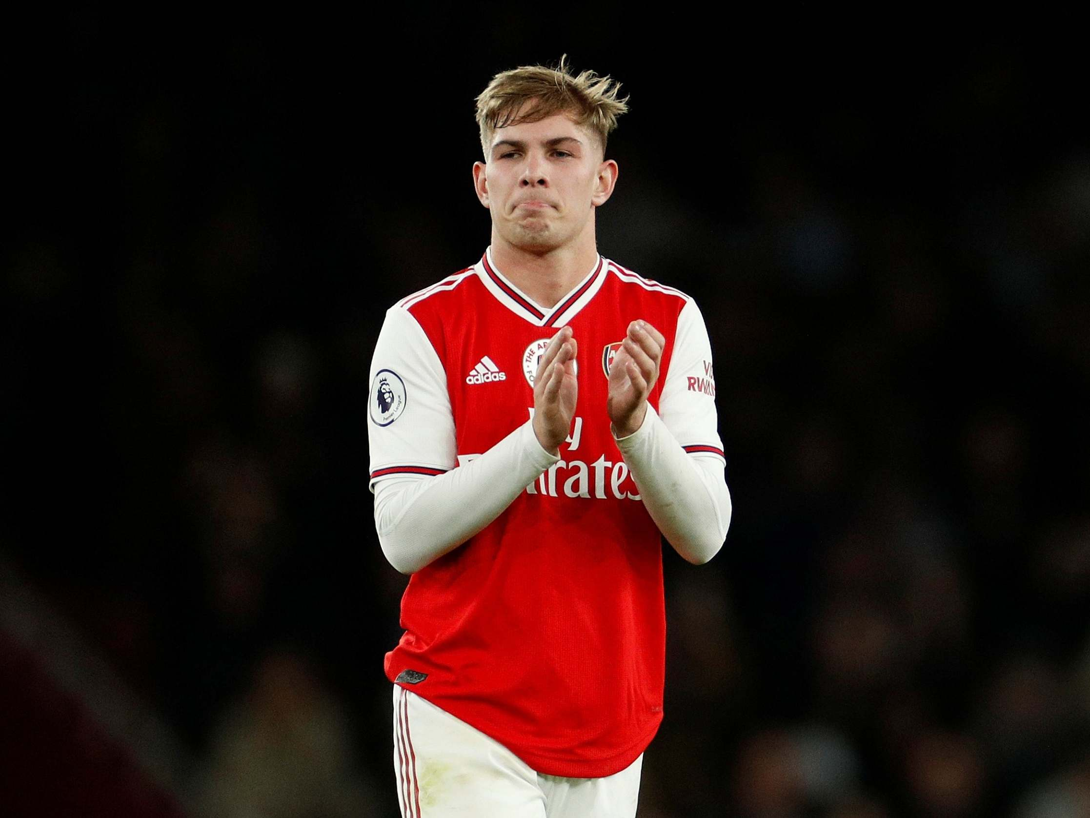 Emile Smith Rowe Arsenal Starlet Attracting Interest From Monaco Crystal Palace And Fulham The Independent The Independent