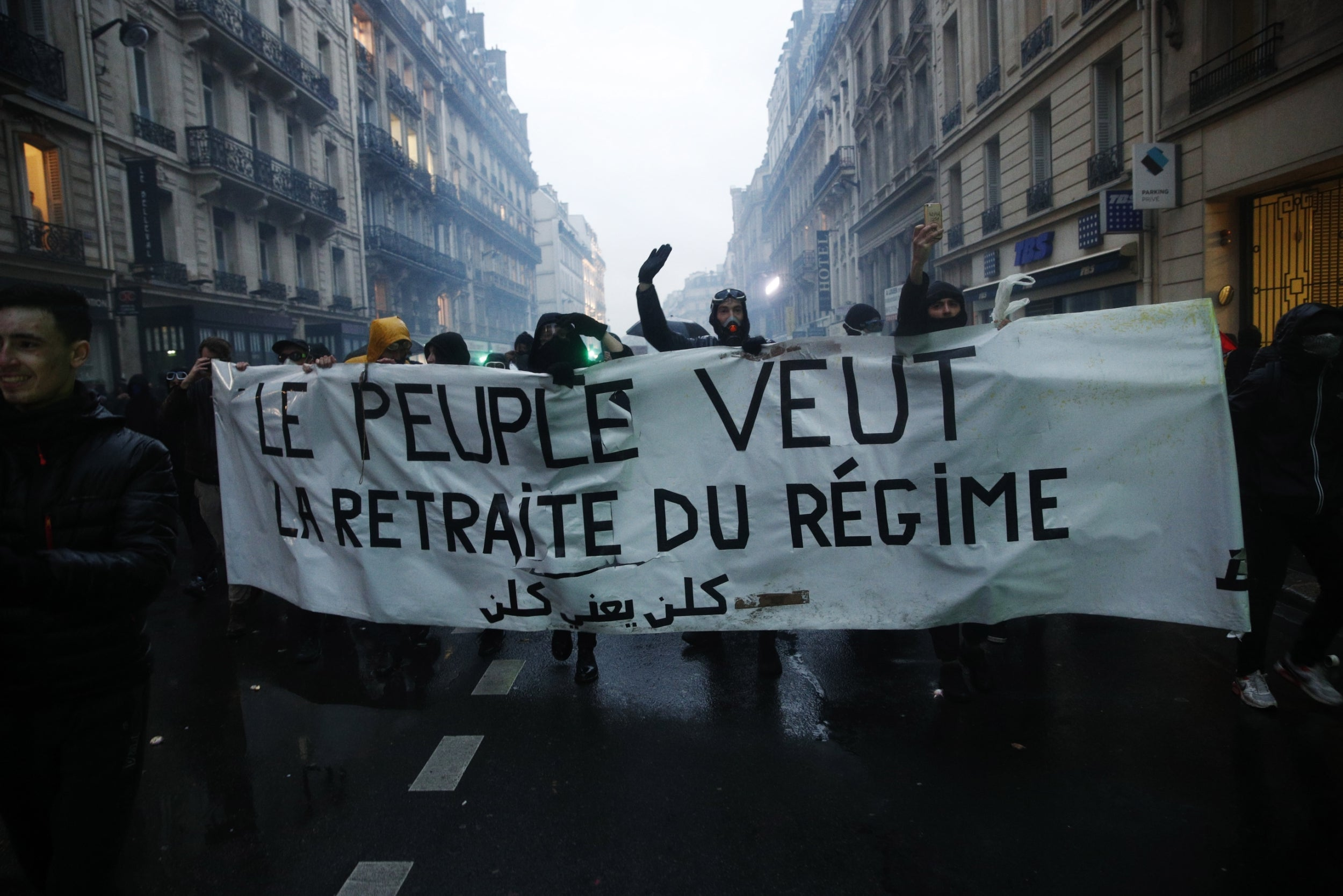 Les As Du Placard Nantes france strikes: chaotic scenes of vandalism and violence as
