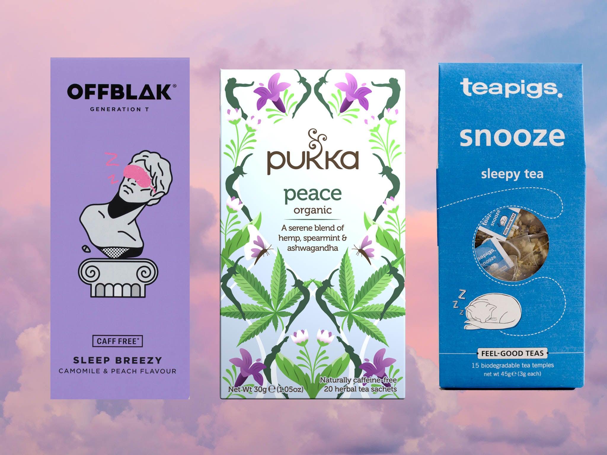 why does herbal tea make you sleepy