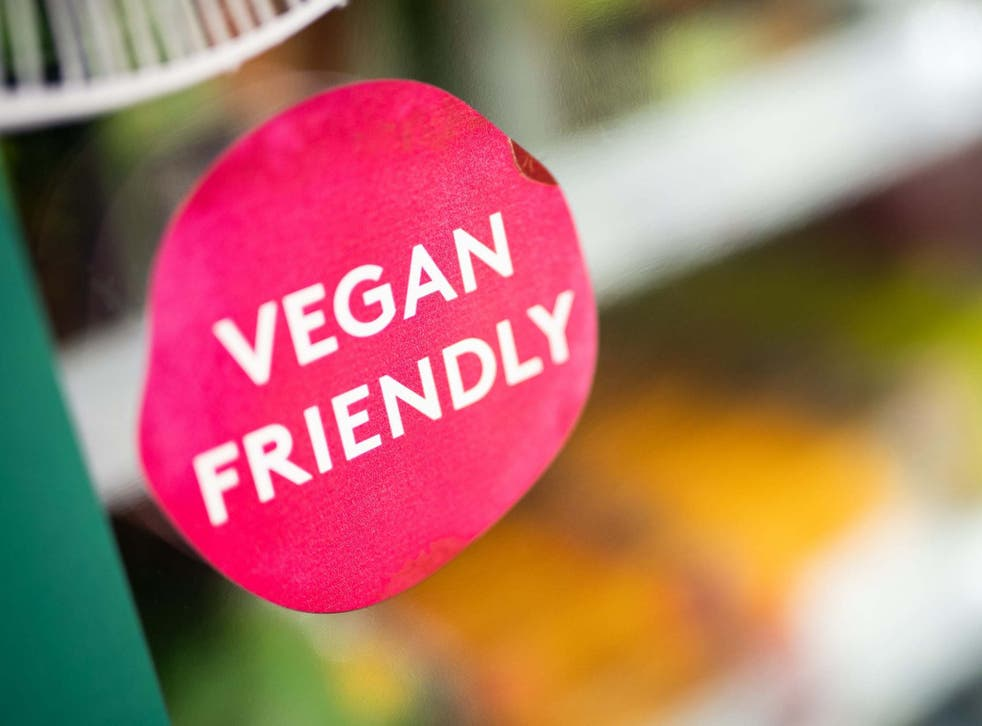 Sales of meat substitutes such as soya mince or vegetarian burgers and sausages were 14 per cent higher than January last year