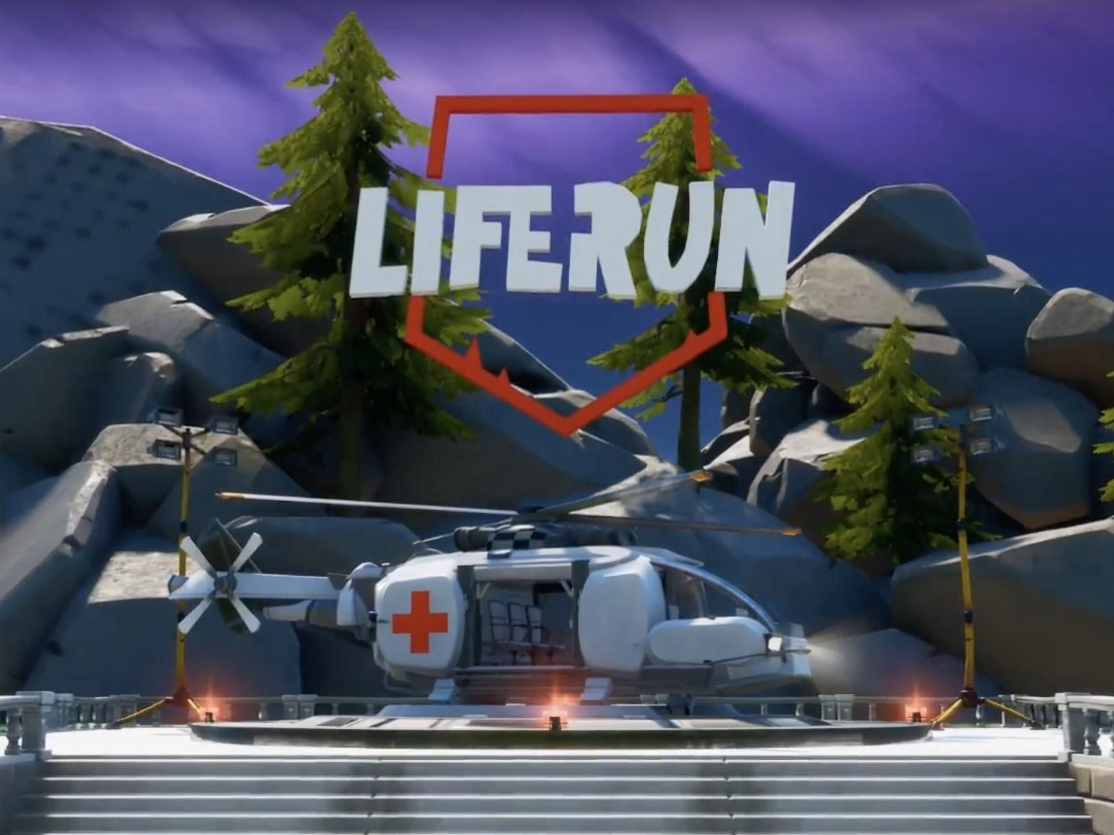 Fortnite update: New creative mode LifeRun lets you save lives rather than kill people