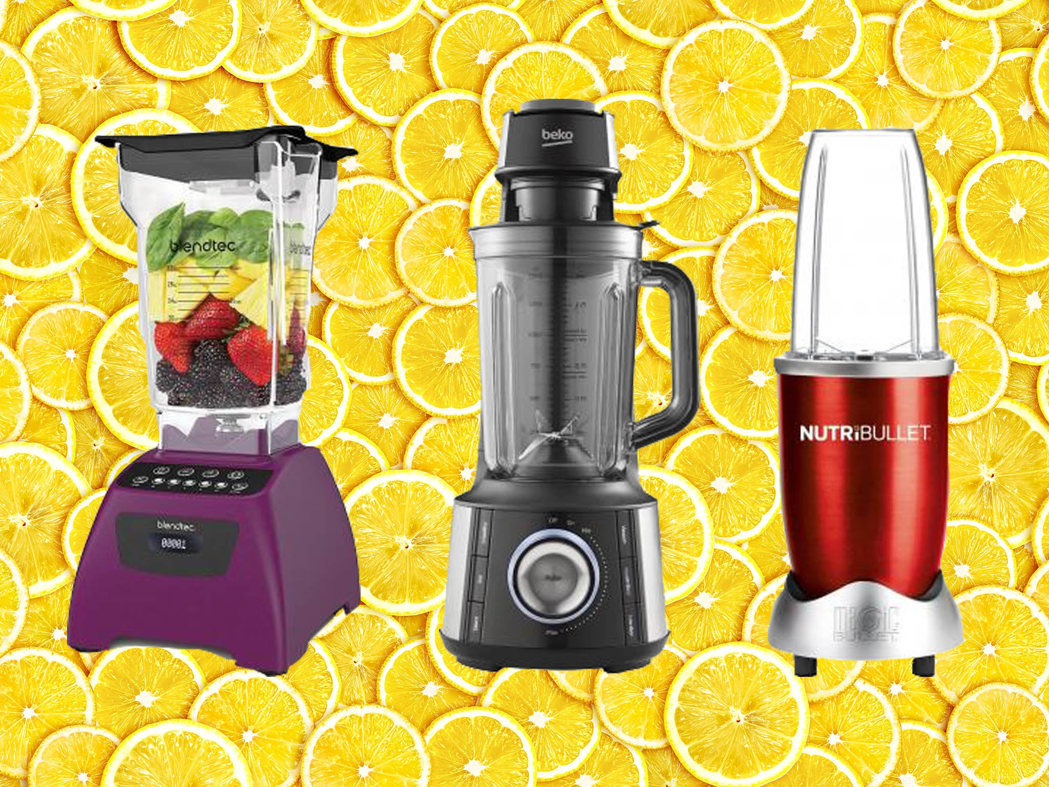 Best jug blenders for smoothies, soups and juices