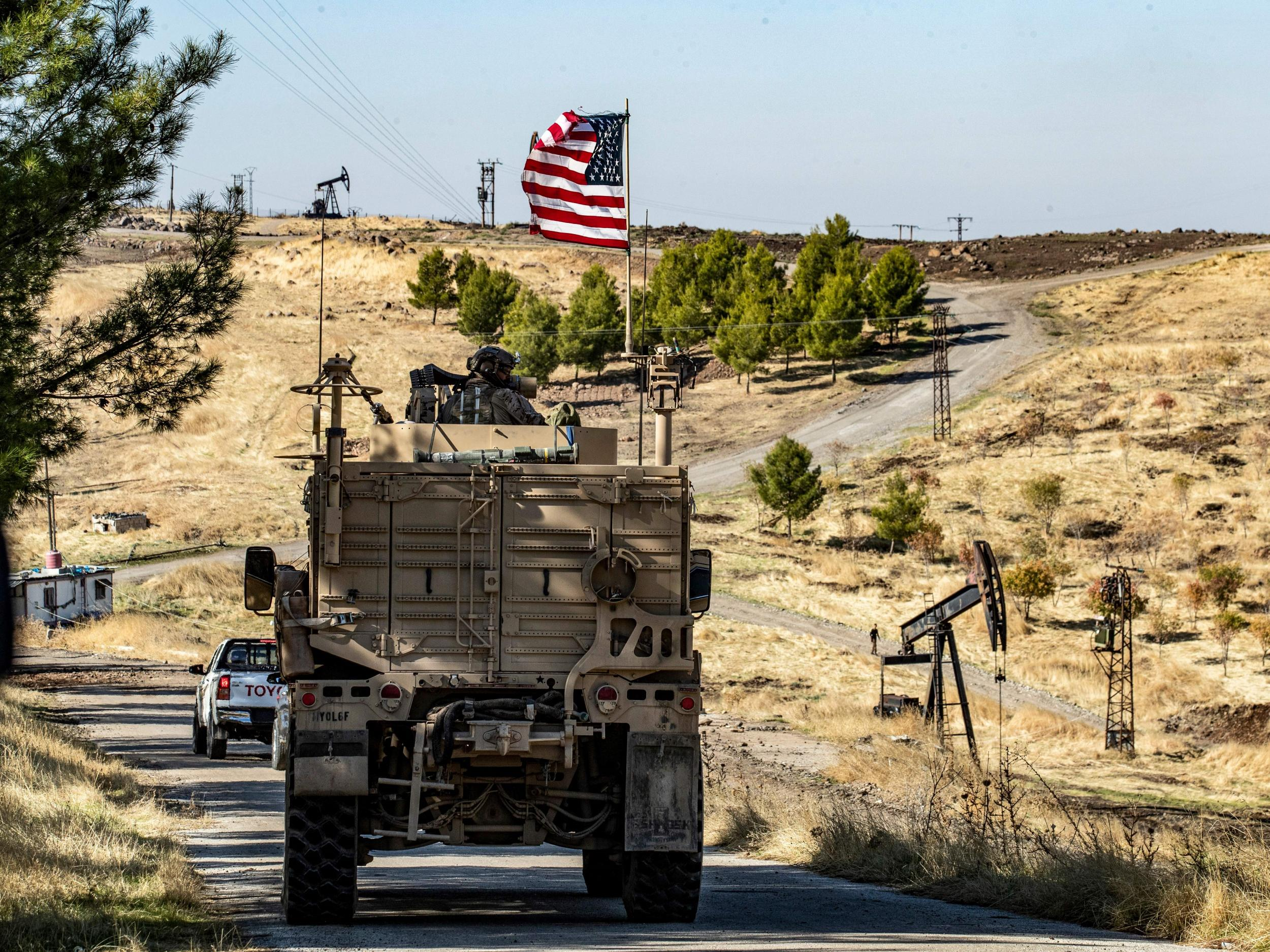 Trump doubles down on threat to take oil from Syria