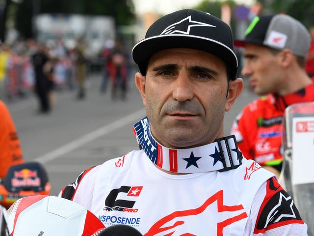 Paulo Goncalves, pictured on the eve of the Silk Way Rally in July