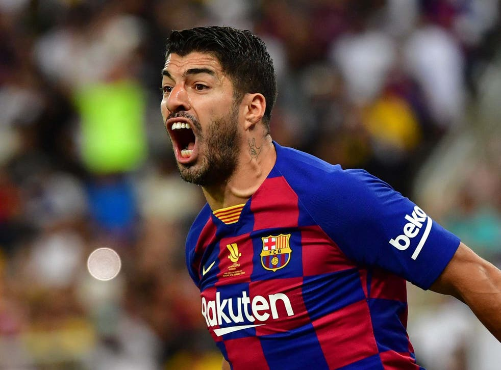 Luis Suarez might not feature for the rest of the season