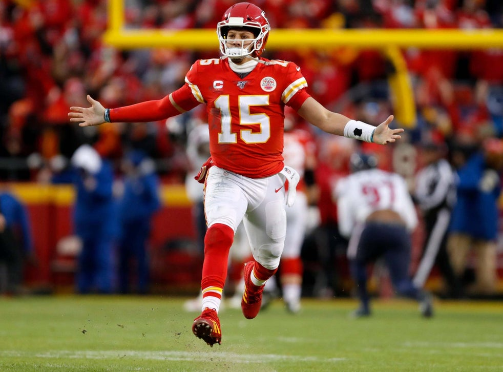 Nfl Patrick Mahomes Reveals The Inspiration Behind Kansas City Chiefs Comeback Against Houston Texans The Independent The Independent