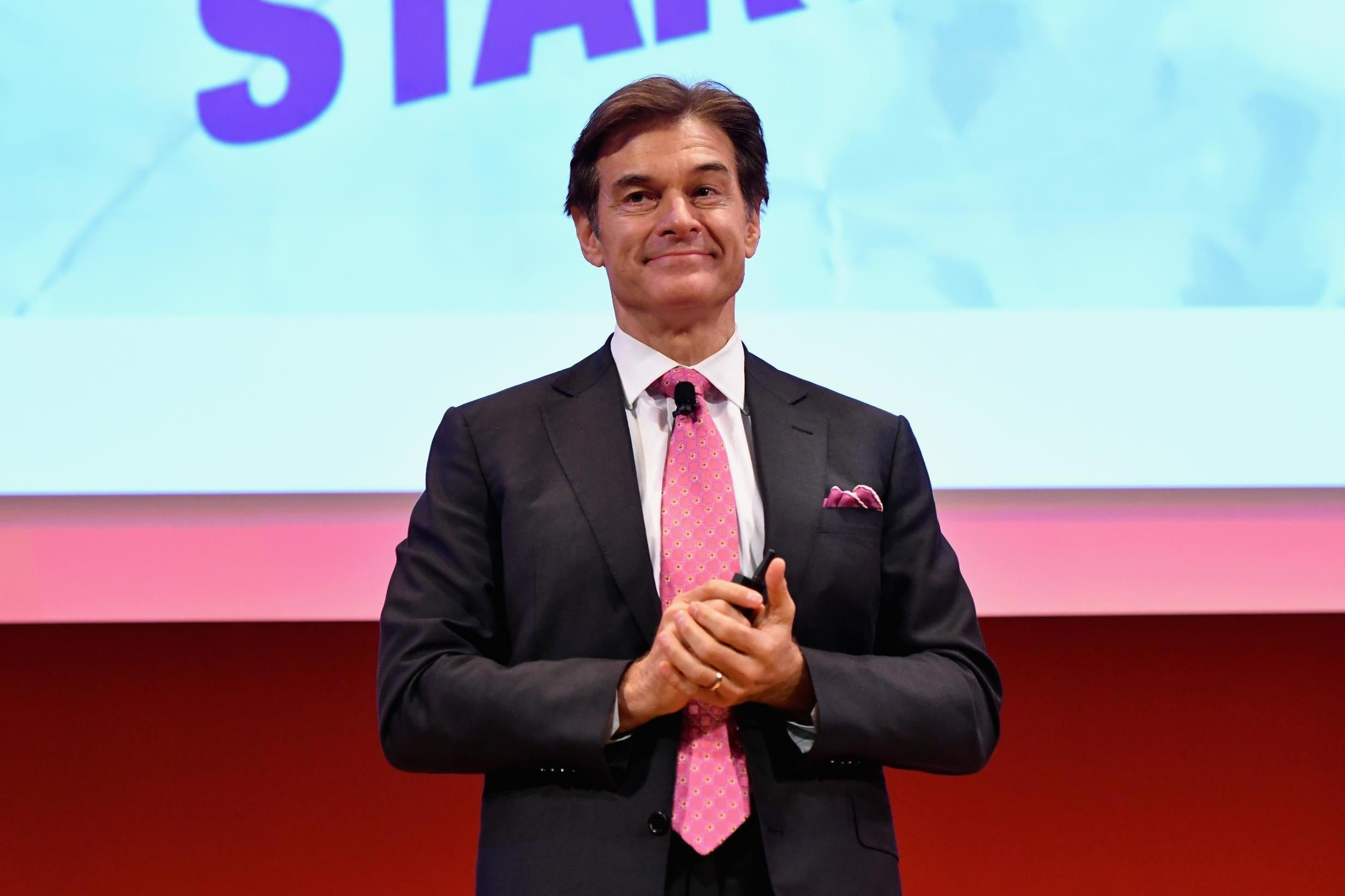 Dr Oz says eating breakfast should be 'cancelled' because 'most Americans are addicted to food'