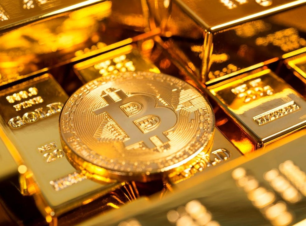 Bitcoin price suddenly surges to two-month high amid 'digital gold' debate  | The Independent | The Independent