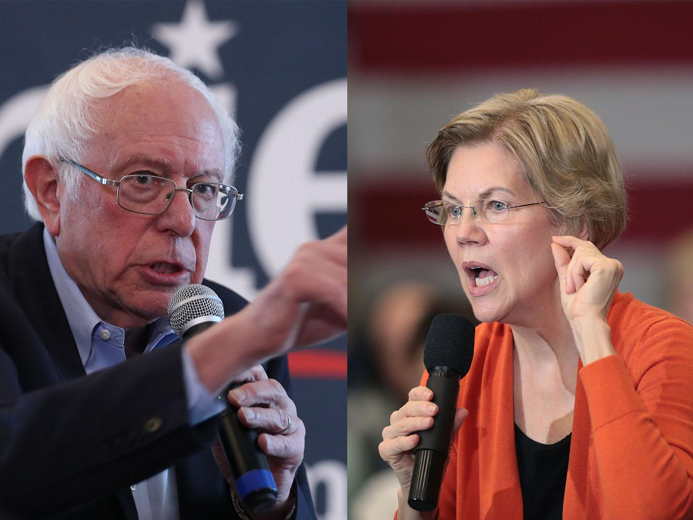 Elizabeth Warren claims Bernie Sanders told her female candidate could not beat Trump in 2020 election