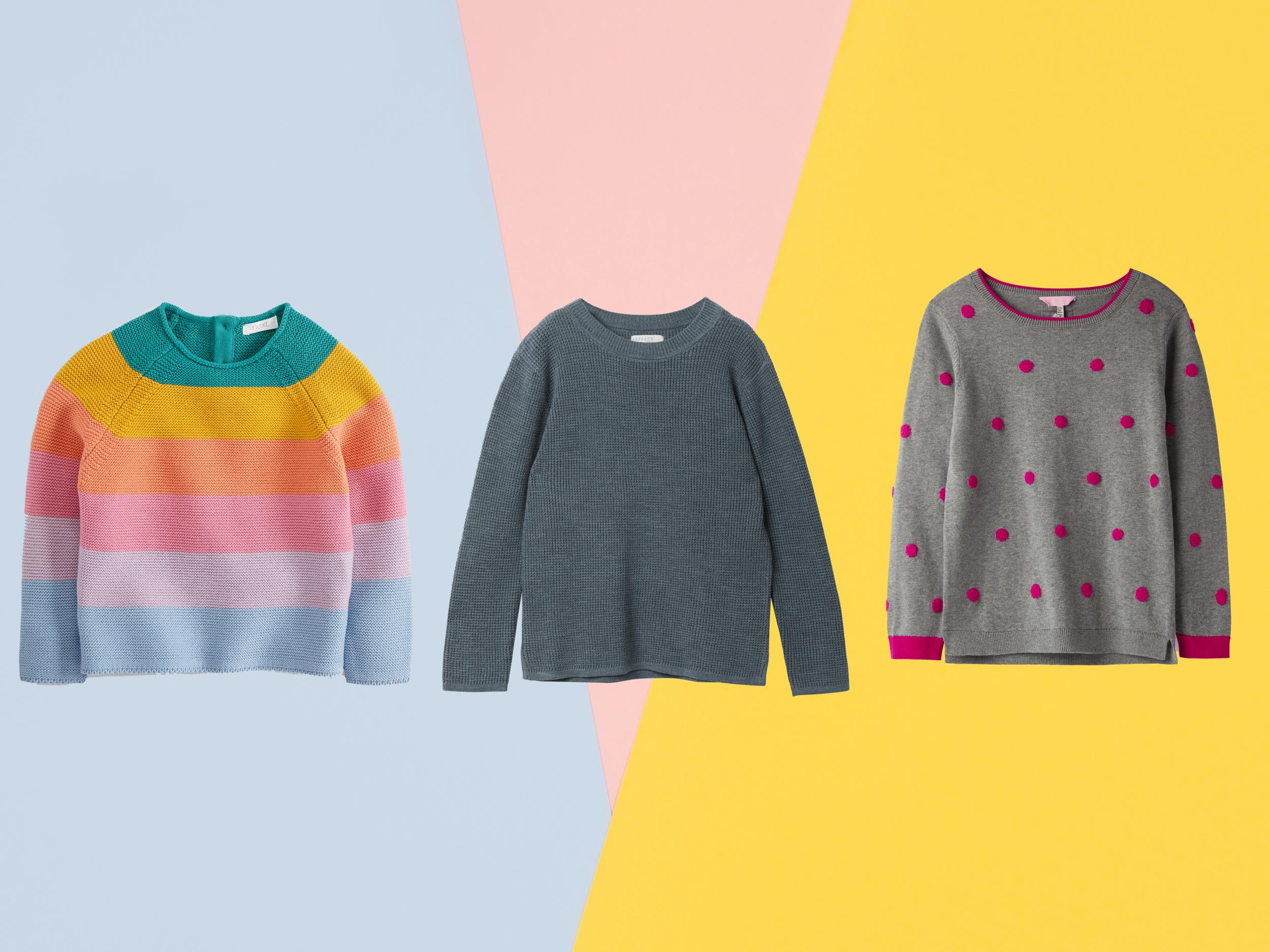 Best children's knitted jumpers that they won't want to take off