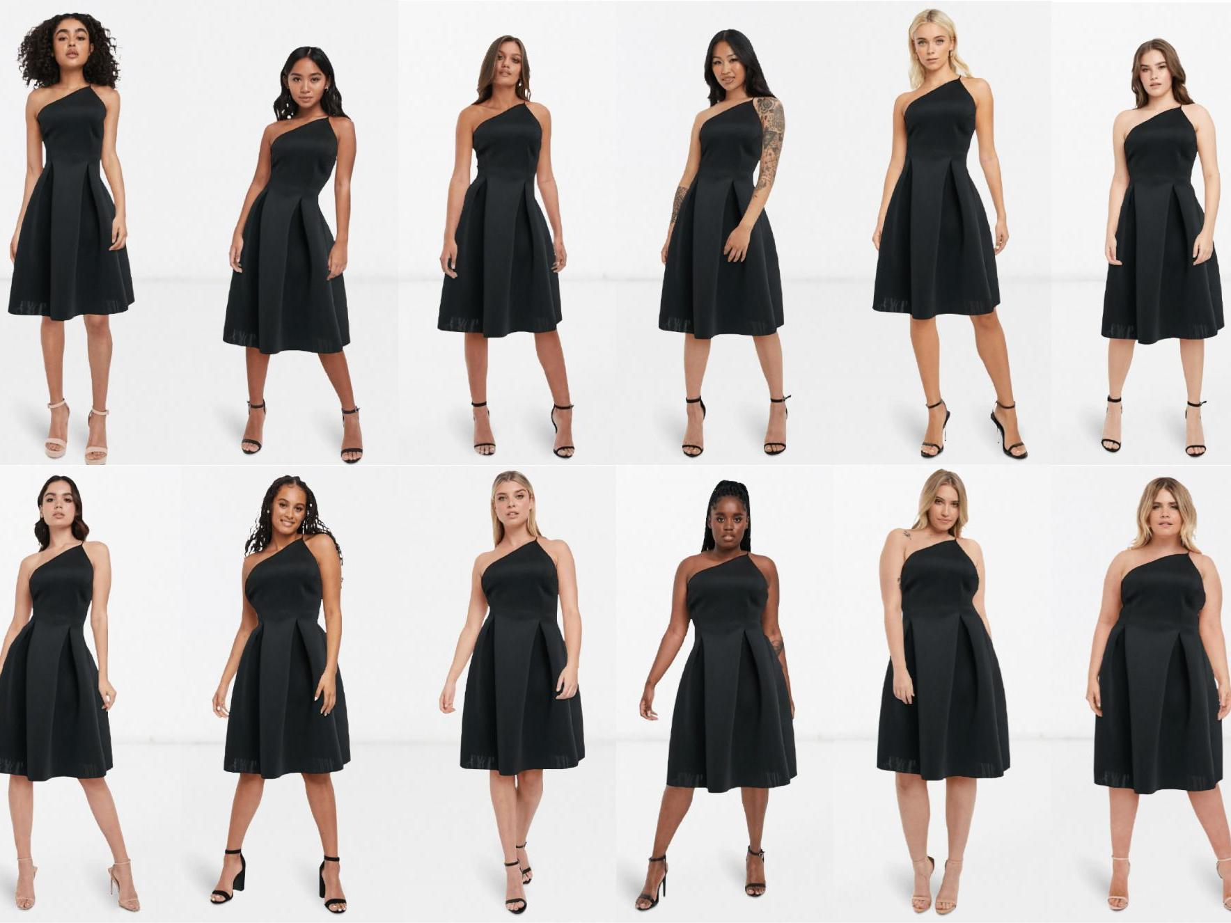 Asos launches tool allowing shoppers to see clothes on different body types