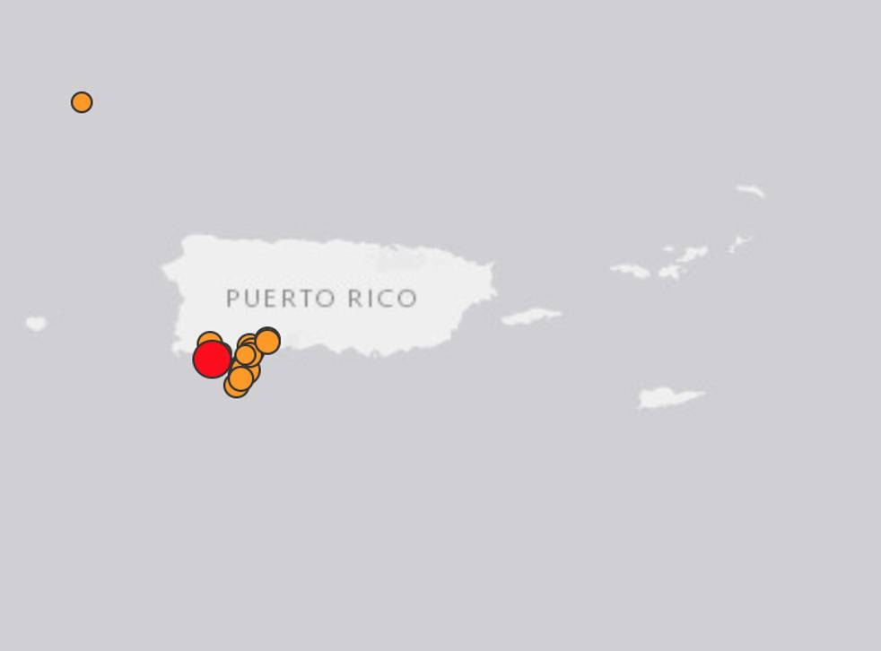Latest earthquake, on Wednesday, could be felt as far as San Juan