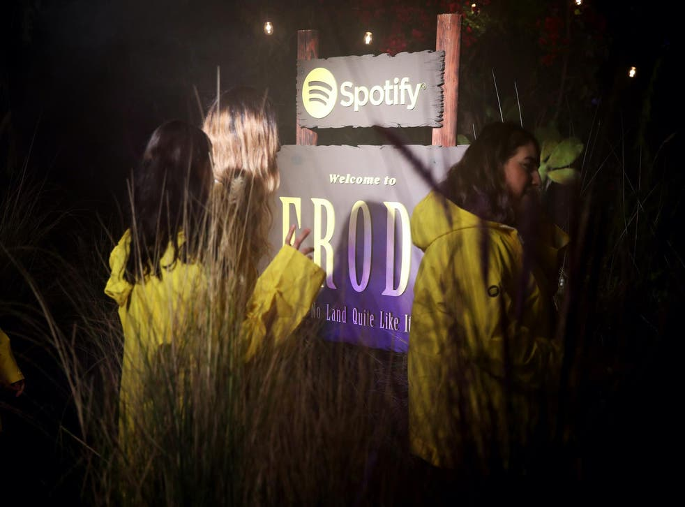 Guests attend Spotify Celebrates The Launch of Harry Styles' New Album