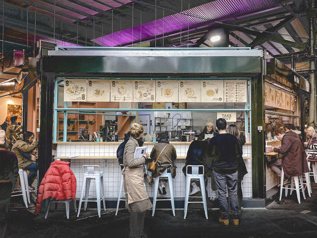Set up by a former 'MasterChef' contestant, it's a stall in central London's most famous market