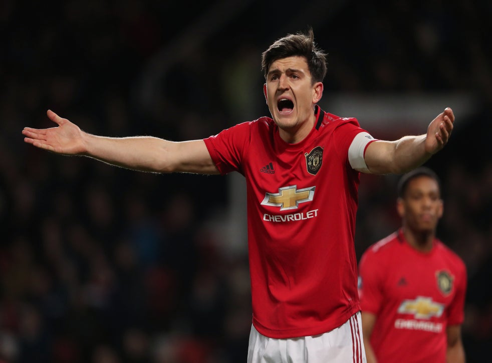 Manchester United Harry Maguire Named New Captain Following Ashley Young Departure The Independent The Independent