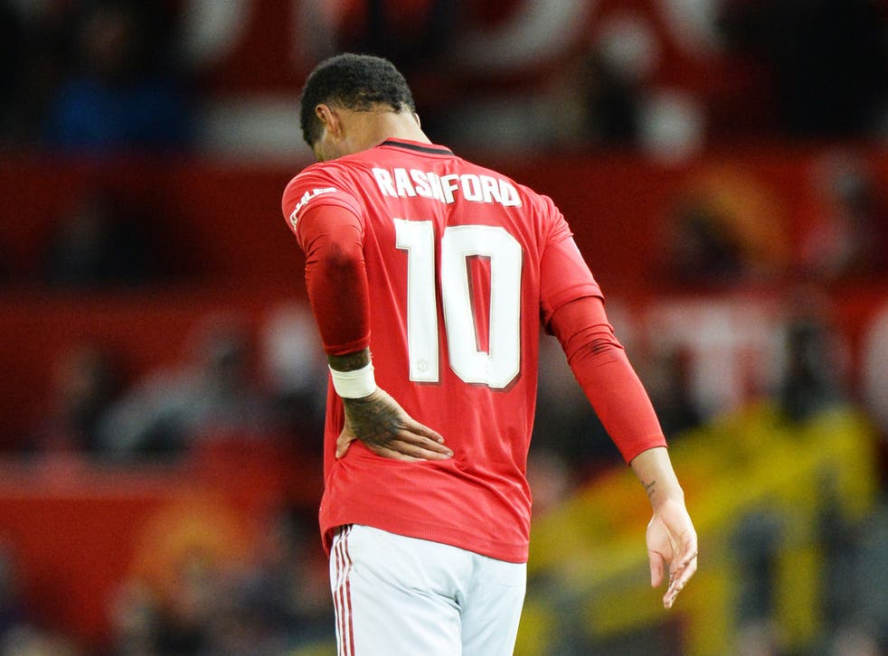 Rashford is set to be sidelined for at least six weeks