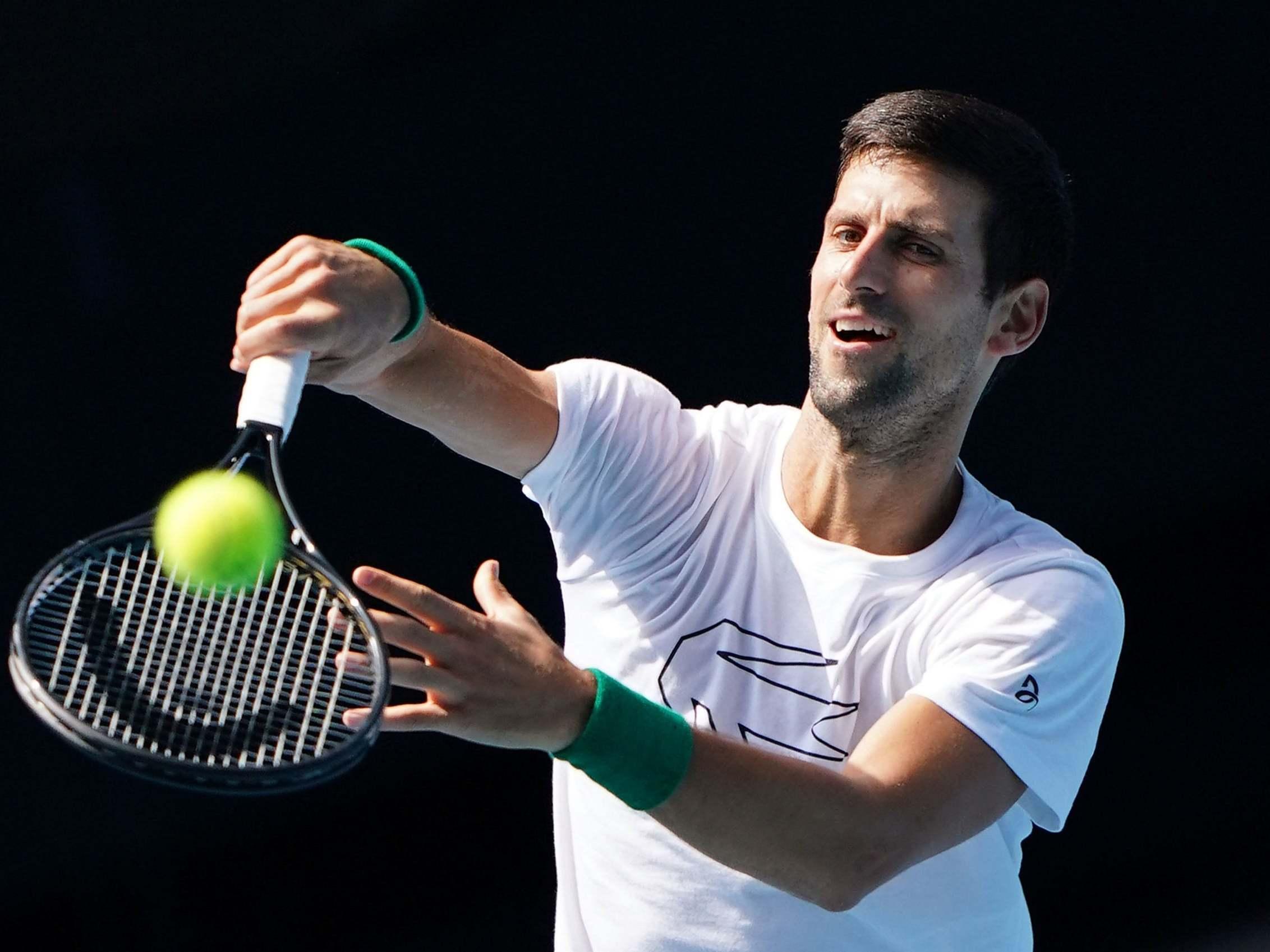 Australian Open 2020 Draw Novak Djokovic On Same Side Of